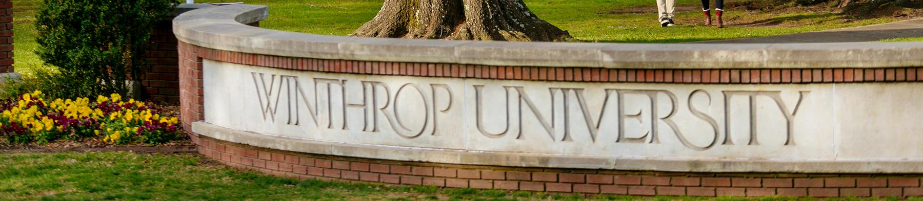 Winthrop University - Entrance