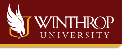 Winthrop Sticky Logo