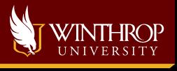 Winthrop Sticky Logo