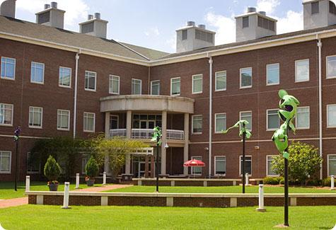 Front view of Dalton Hall