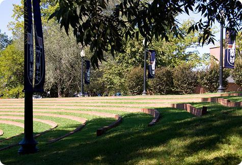 Oakland University Campus Map >> Winthrop University: Virtual Tour - Amphitheatre
