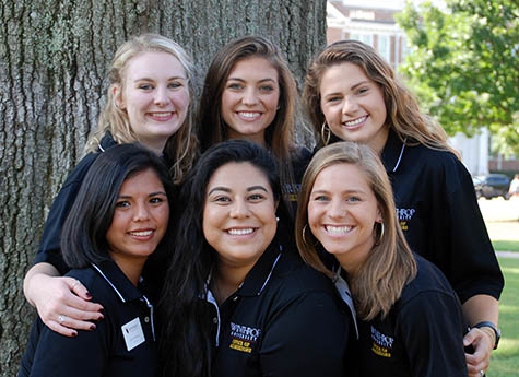 2018: Winthrop Admissions Assistants