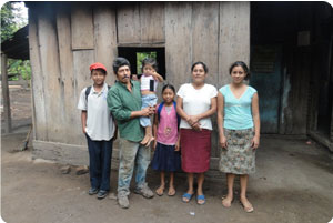 Family From Tierra Blanca Nicaragua
