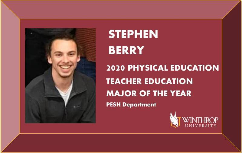 Stephen Berry - PETE Major of the Year