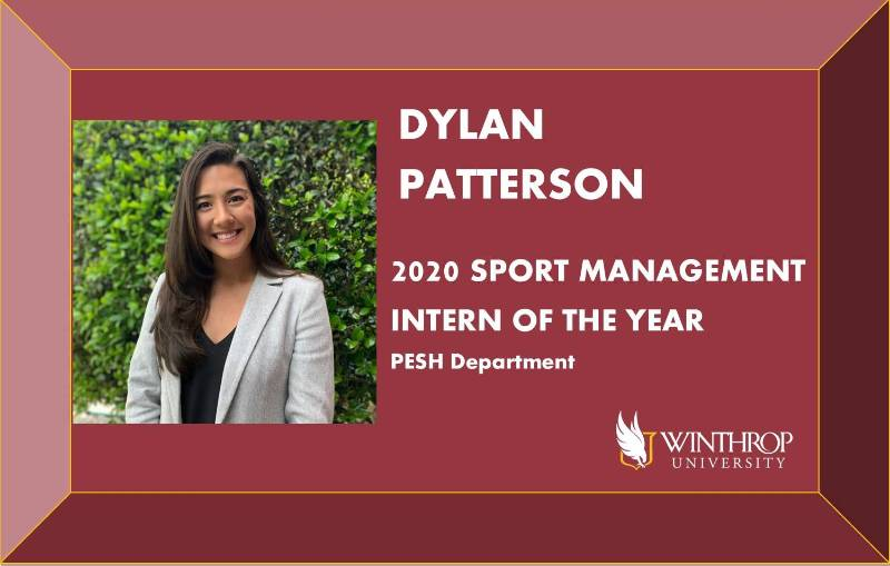 Dylan Patterson - SPMA Intern of the Year