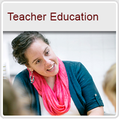 Teacher Education Button