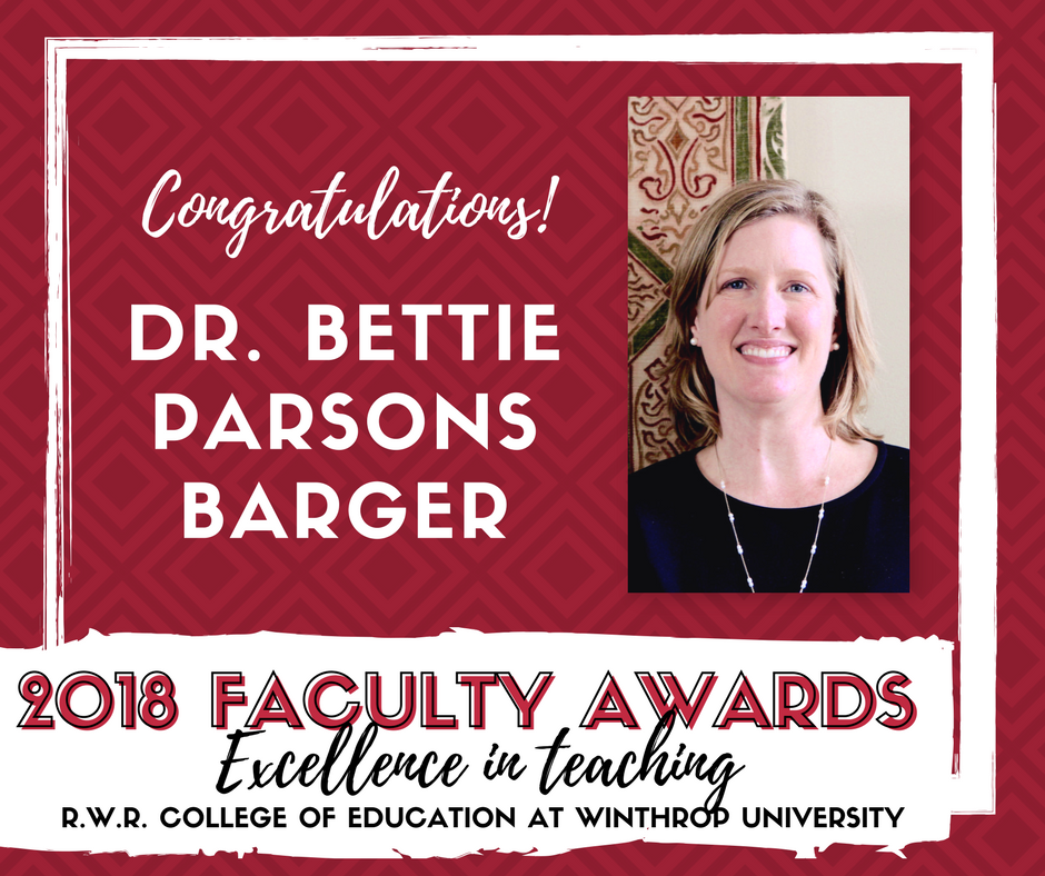 2018 Excellence in Teaching Award