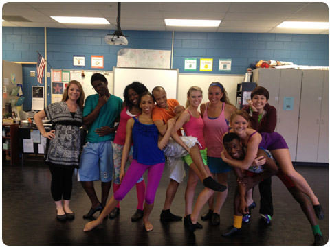 2012 Winthrop Dance Repertory Theatre Touring Ensemble