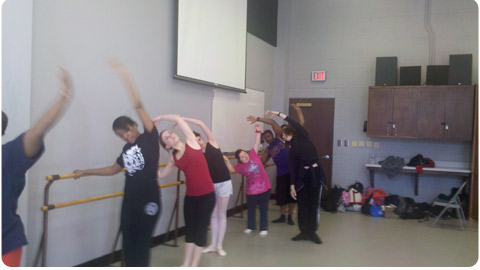 Transitions Dance Class