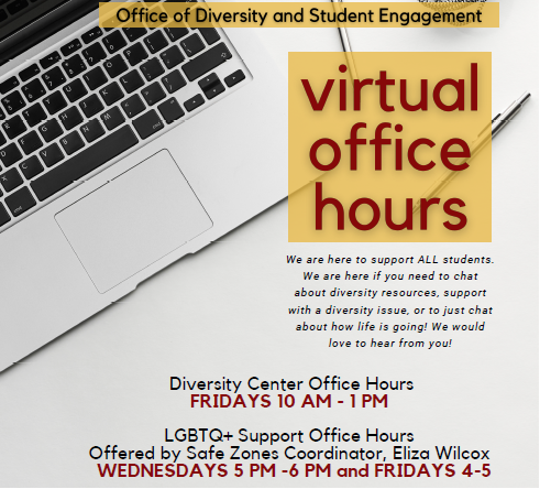 virtual office hours fall 2020