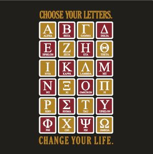 Choose Your Letters Change Your Life