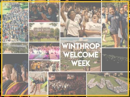 Welcome Week Collage