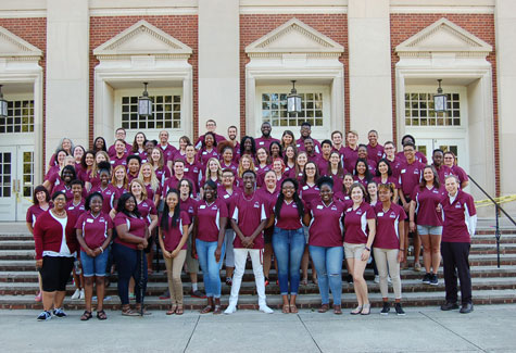 Reslife Staff Photo 2012