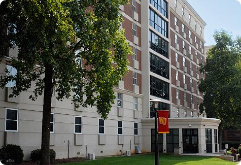 Winthrop University Residence Life Richardson Hall